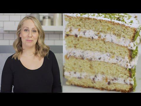 FROSTED: Pistachio Cannoli Cake