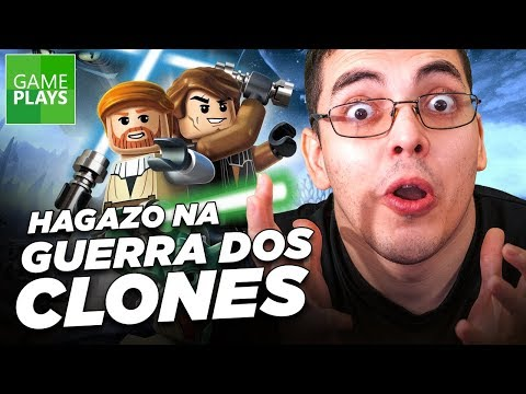 LEGO Star Wars 3 Clone Wars gameplay com Hagazo