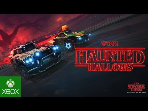Rocket League Haunted Hallows In-Game Event