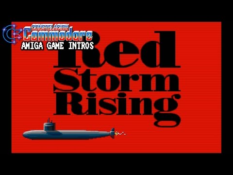 Amiga Game Intro: Red Storm Rising (Sid Meier/Microprose,1990)