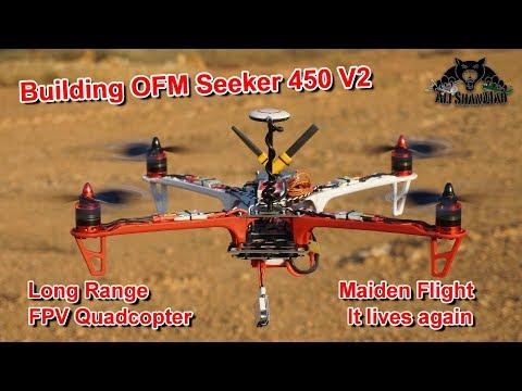 OFM Seeker 450 V2 Long Range FPV Quadcopter Lives Again - UCsFctXdFnbeoKpLefdEloEQ
