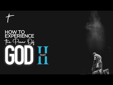 How To Experience The Power Of God Part 2   Pst Bolaji Idowu  20th June 2021
