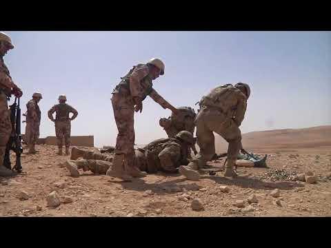 DFN:U.S. and Jordanian Armed Forces Live Fire Range B-Roll, JORDAN, 04.18.2018