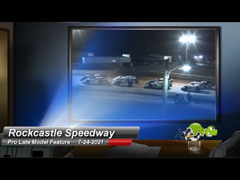 Rockcastle Speedway - Pro Late Model Feature- 7/24/2021 - dirt track racing video image