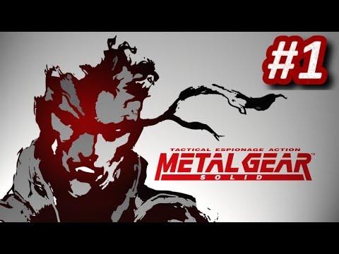METAL GEAR SOLID (PS1) - Episodio 1: Infiltración en Shadow Moses || Gameplay Español PlayStation