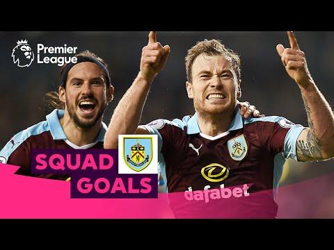 Spectacular Burnley Goals | Barnes, Hendrick, Defour | Squad Goals