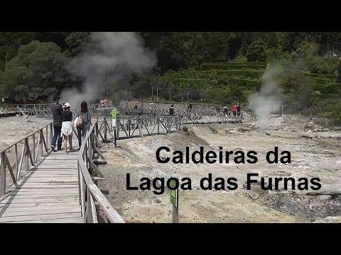 AZORES: Caldeiras da Lagoa das Furnas – São Miguel Island