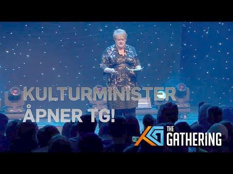 TG18 - Kulturminister Trine Skei Grande åpner The Gathering