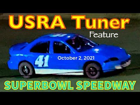 USRA Tuner Feature - SUPERBOWL SPEEDWAY - October 2, 2021 - Greenville, Texas, USA - dirt track racing video image