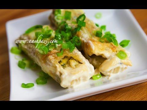 Artichoke Spinach Manicotti Recipe (4K) - UCZXjjS1THo5eei9P_Y2iyKA
