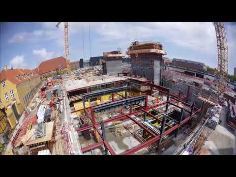 ZÜBLIN A/S - Project BLOX: Progess of Construction I