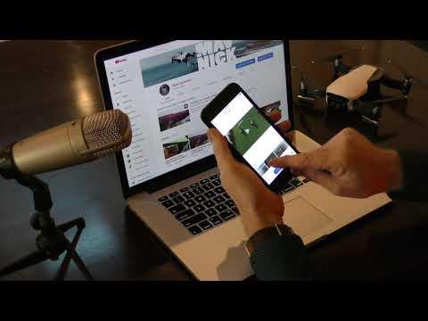 DJI Go4 App Editor sample | FpvRacer lt