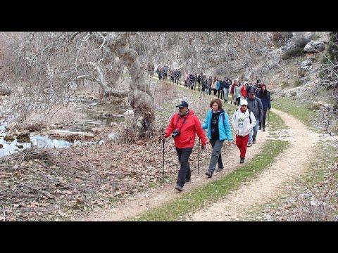 Konya'da kuruyan derede 'kuraklık' yürüyüşü