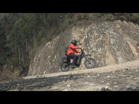 Carbon Fiber Powerful Electric Bike SAMURAI