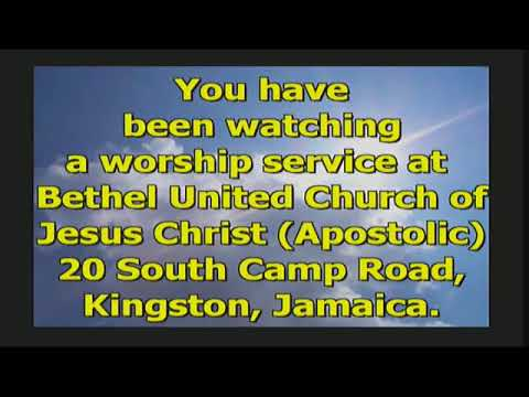 Bethel Sunday Morning Service #2 November 15, 2020- JUST ONE WORD - YET Pastor Michael G. Lewis