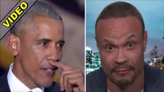 """Obama Freaks As Dan Bongino Reveals Why Liberals Refuse To Use The Word """"Spy""""   YouTube"""