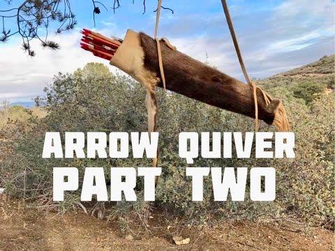 Otter Pelt Arrow Quiver (Part 2 of 4)