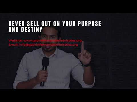 NEVER SELL OUT ON GODS PURPOSE FOR YOUR LIFE, POWERFUL MESSAGE AND PRAYERS