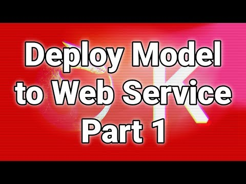 Deploy Keras Neural Network to Flask web service | Part 1 - Overview