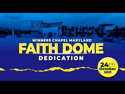 Faith Domi dedication  10-24-2021  Winners Chapel Maryland