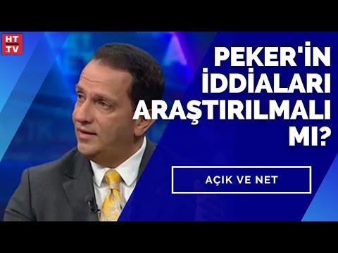 Açık ve Net'te Peker'in iddiaları konuşuluyor… #YAYINDA
