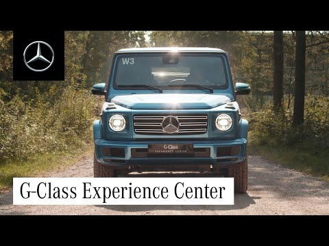 G-Class: Into Off-Road Terrain with the Legend