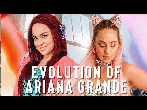 Ariana Grande's Hair Evolution + tutorial! – Kayley Melissa