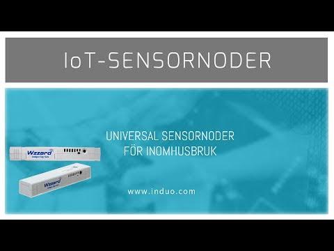 IoT-sensornoder för inomhusbruk