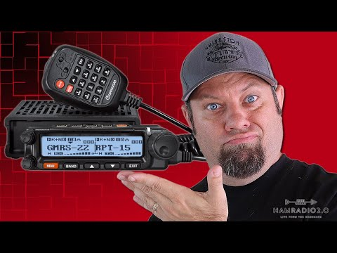 Wouxun REVEALS the KG-1000G | Best Mobile GMRS Radio?