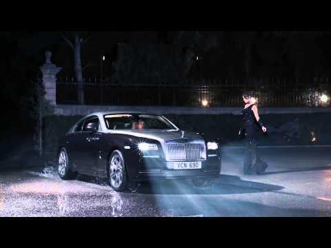 Wraith - najszybszy Rolls-Royce w historii w ruchu