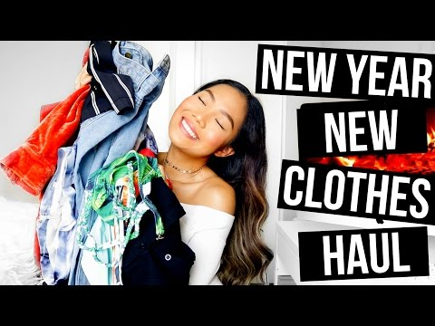 NEW YEAR, NEW CLOTHES TRY-ON HAUL 2017 || Farina Aguinaldo