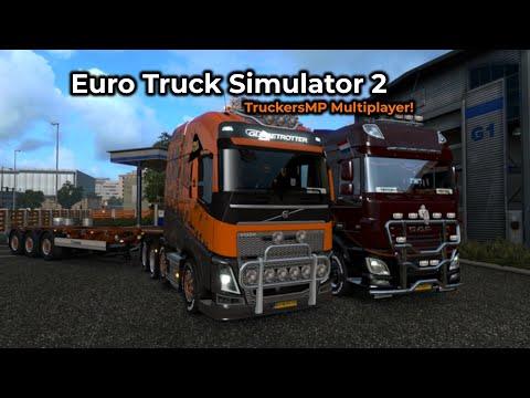 Euro Truck Simulator 2 - TruckersMP (Opname 09/05/2019)