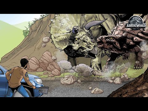 Cruce de los Dinosaurios - Motion Comic  | Jurassic World