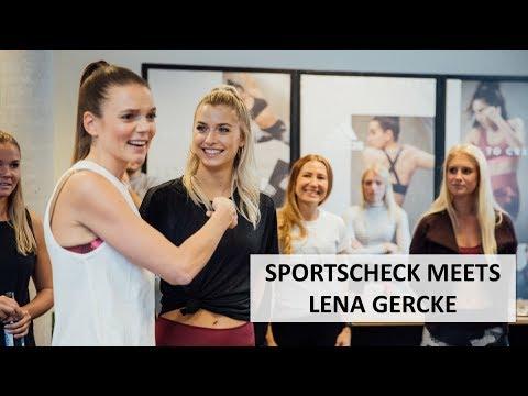 SportScheck meets Lena Gercke