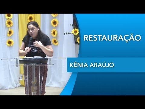 Kênia Araújo   Anseio por ti Senhor    Salmos 42.1   12 03 2020