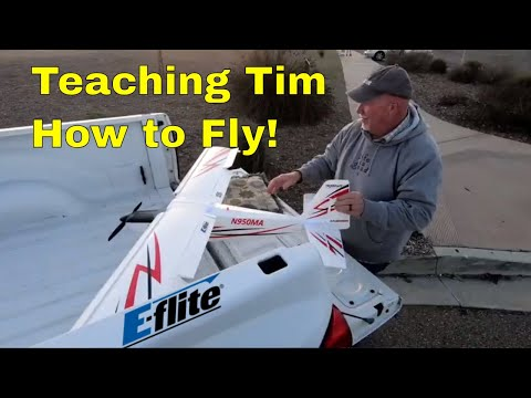 Teaching Tim How to Fly His E-Flite Timber 1.5m - UCtw-AVI0_PsFqFDtWwIrrPA