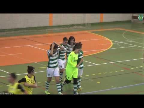 16/17 Resumo/Golos 2ª Fase Jornada 9 - Campeonato Nacional Feminino - Sporting CP 3 x 1 Louriçal