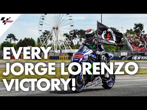 Every single Jorge Lorenzo victory!   #ThankYouJorge