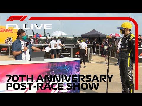 F1 Live Show: 70th Anniversary Grand Prix Reaction