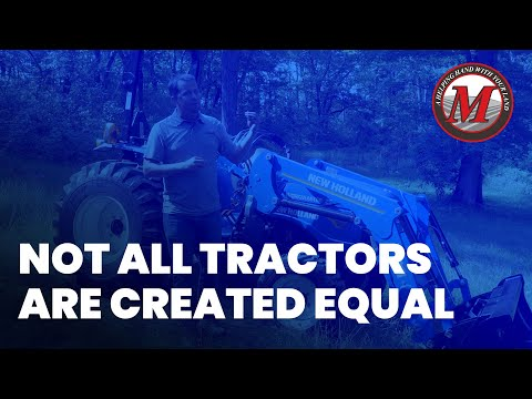 Not All Tractors Are Created Equal | New Holland Workmaster 25 Economy Tractor Picture