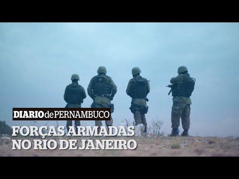 Forças Armadas realizam megaoperação contra o crime organizado no Rio