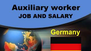 Auxiliary worker Salary in Germany - Jobs and Wages in Germany