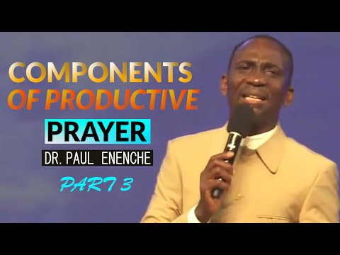 COMPONENTS OF PRODUCTIVE PRAYER 3