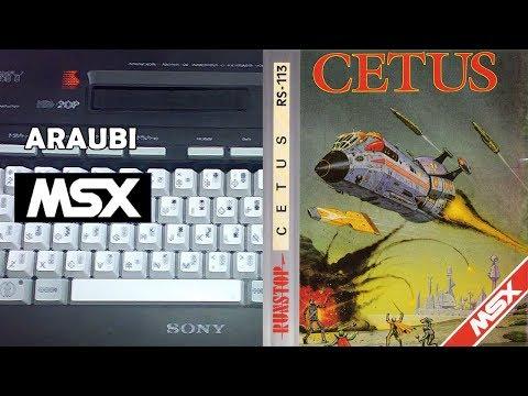 Cetus (Tynesoft, 1986) MSX [561] Walkthrough