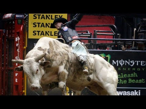 Bull riders at the Ty Murray Invitational in Albuquerque