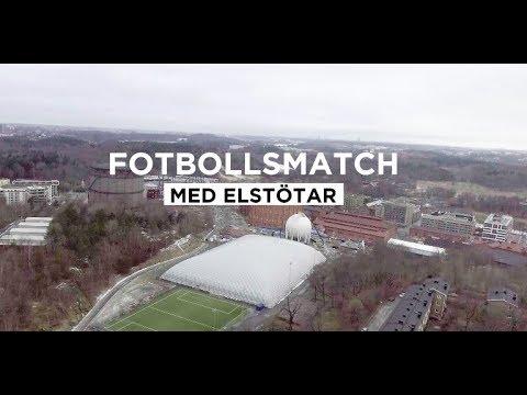 NOBE aloe vera - Fotbollsmatch med elstötar.