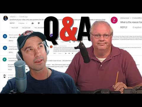 Oct. Q&A - answering questions left on videos