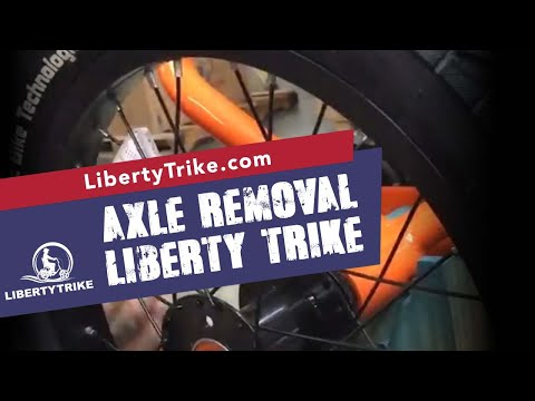Liberty Trike Rear Axle removal