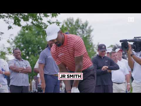 "Chris Paul, Aaron Rodgers, And More Face-Off In ""CDW Glass Break Challenge"" at Golf Tournament"