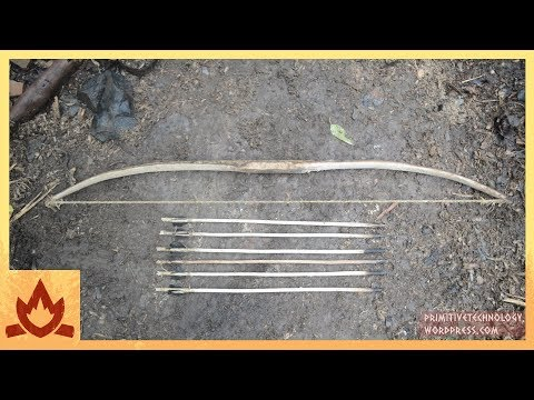 Primitive Technology: Bow and Arrow Poster